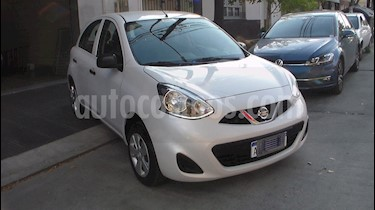 foto Nissan March Active usado (2017) color Gris precio $359.900