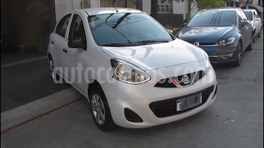 foto Nissan March Active usado (2017) color Blanco precio $449.900