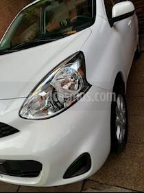 Foto venta Auto usado Nissan March Active (2019) color Blanco precio $410.000