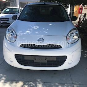 Foto venta Auto Seminuevo Nissan March Active (2017) color Blanco precio $139,000