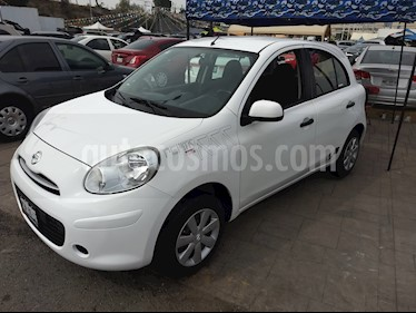 Foto venta Auto usado Nissan March Active (2012) color Blanco precio $82,500