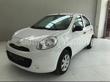 Foto venta Auto usado Nissan March Active (2018) color Blanco precio $142,900