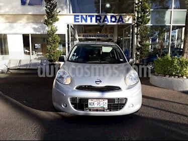 Foto venta Auto usado Nissan March Active (2015) color Plata precio $110,000