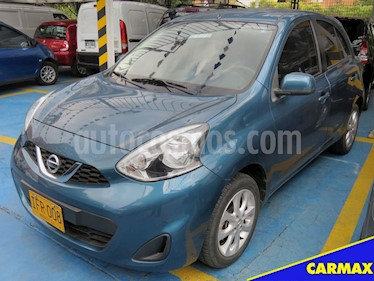 Foto venta Carro usado Nissan March Advance Aut (2016) color Azul precio $35.900.000