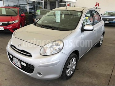 Foto Nissan March Advance Aut usado (2013) color Plata precio $133,000