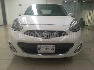 Foto Nissan March Advance Aut usado (2014) color Blanco precio $137,000
