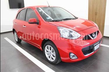 Foto venta Auto usado Nissan March Advance Aut (2018) color Rojo precio $205,000