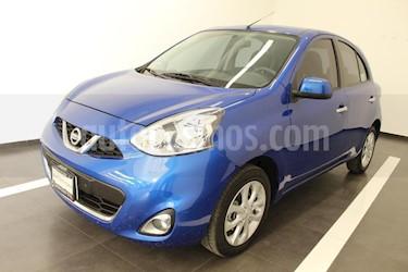 Foto venta Auto Seminuevo Nissan March Advance Aut (2015) color Azul precio $165,000