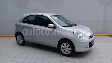 Foto venta Auto usado Nissan March Advance Aut (2013) color Plata precio $115,000