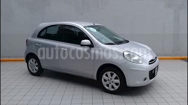 foto Nissan March Advance Aut usado (2013) color Plata precio $115,000