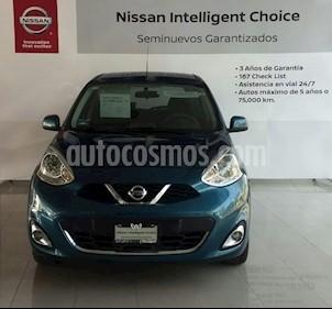 Foto venta Auto Seminuevo Nissan March Advance Aut (2017) color Azul precio $175,000