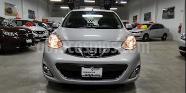 Foto venta Auto usado Nissan March Advance Aut (2018) color Plata precio $170,000