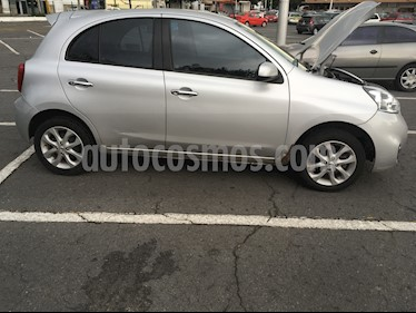Nissan March Advance Aut usado (2017) color Plata precio $125,000