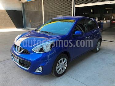 Foto venta Auto usado Nissan March Advance Aut (2017) color Azul Electrico precio $179,900