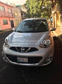 Nissan March Advance Aut usado (2018) color Plata precio $160,000