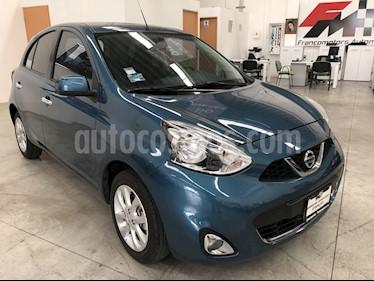 Foto venta Auto usado Nissan March Advance Aut (2018) color Azul precio $185,000