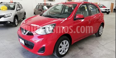 Foto venta Auto usado Nissan March Advance Aut (2017) color Rojo precio $155,000