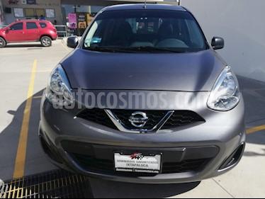 Foto venta Auto usado Nissan March Advance Aut (2017) color Gris Cometa precio $155,000