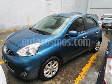 Foto Nissan March Advance Aut usado (2016) color Azul precio $140,000