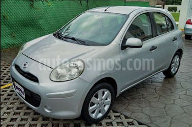 Foto Nissan March Advance Aut usado (2012) color Plata precio $99,000