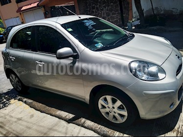Nissan March Advance Aut usado (2013) color Plata precio $105,000