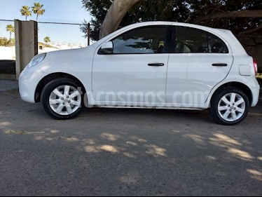 Foto venta Auto usado Nissan March Advance Aut (2012) color Blanco precio $105,000