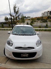 Nissan March Advance Aut usado (2012) color Blanco precio $100,000