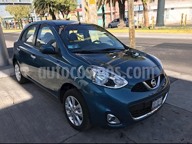 Foto venta Auto Seminuevo Nissan March Advance Aut (2018) color Turquesa precio $195,000