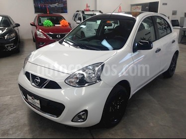 Foto venta Auto usado Nissan March Advance Duo (2018) color Blanco precio $179,000
