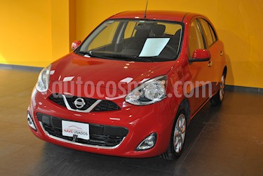 Foto venta Auto usado Nissan March Advance Media Tech Aut (2014) color Rojo precio $345.000