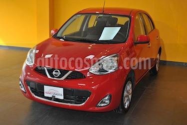 foto Nissan March Advance Media Tech Aut usado (2014) color Rojo precio $345.000