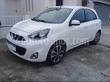 foto Nissan March Advance Media Tech Aut usado (2017) color Blanco precio $450.000