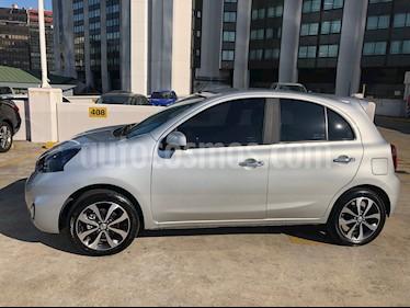 Foto venta Auto usado Nissan March Advance Media Tech Aut (2017) color Gris Plata  precio $460.000
