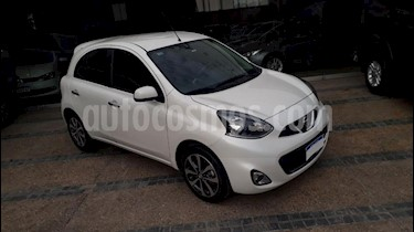 Foto venta Auto usado Nissan March Advance Media Tech Aut (2017) color Blanco precio $200.000