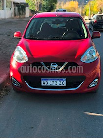 foto Nissan March Advance Media Tech Aut usado (2017) color Rojo precio $410.000