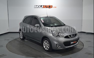 foto Nissan March Advance Media Tech usado (2014) color Plata precio $365.000