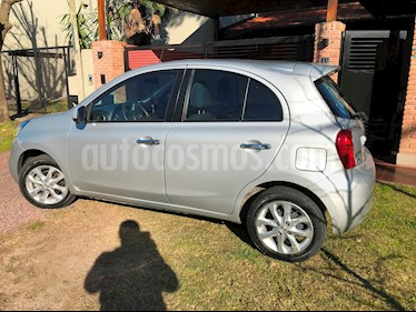 Foto venta Auto usado Nissan March Advance Media Tech (2015) color Gris Plata  precio $359.000
