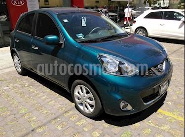 Foto venta Auto usado Nissan March Advance NAVI Aut (2015) color Turquesa precio $140,000
