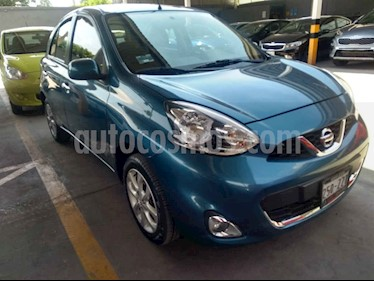 Foto venta Auto usado Nissan March Advance NAVI Aut (2015) color Azul precio $149,000
