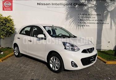 Foto venta Auto usado Nissan March Advance NAVI Aut (2018) color Blanco precio $209,000