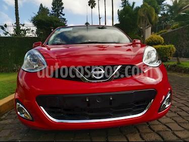 Foto venta Auto usado Nissan March Advance NAVI (2016) color Rojo precio $118,000