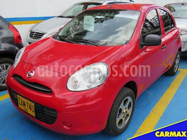 Foto venta Carro usado Nissan March Advance (2015) color Rojo precio $29.900.000