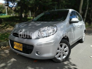 Foto venta Carro usado Nissan March Advance (2013) color Plata precio $22.900.000