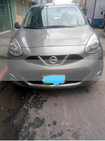 Foto Nissan March Advance usado (2015) color Gris precio $24.000.000