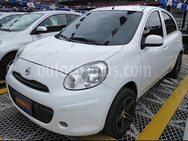Foto venta Carro usado Nissan March Advance (2017) color Blanco precio $28.900.000
