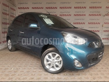 Foto venta Auto usado Nissan March Advance (2018) color Turquesa precio $180,000