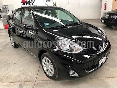 Foto venta Auto usado Nissan March Advance (2018) color Negro precio $179,000