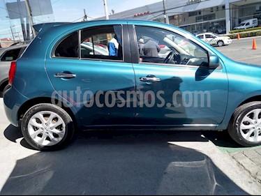 Foto Nissan March Advance usado (2018) color Turquesa precio $169,000