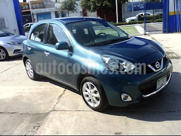 Foto Nissan March Advance usado (2018) color Turquesa precio $148,500