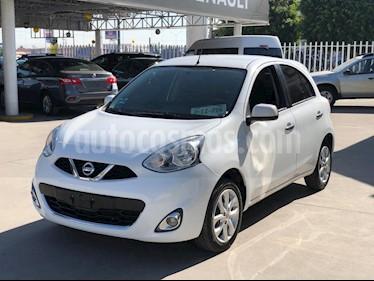 Foto venta Auto usado Nissan March Advance (2018) color Blanco precio $175,000